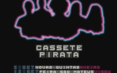 CASSETE PIRATA DE VOLTA À ESTRADA EM SETEMBRO