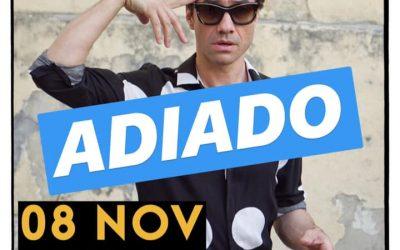 CONCERTO DE DAVID FONSECA ADIADO