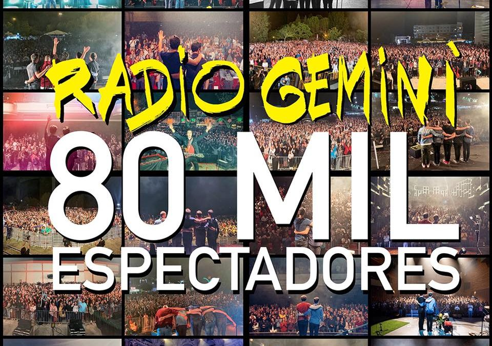 RADIO GEMINI, A FESTA CONTINUA EM 2020