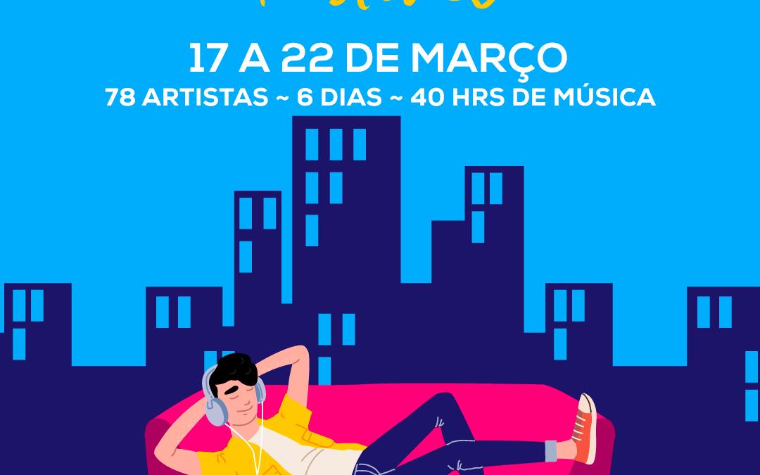 @FestivalEuFicoEmCasa – Artistas unem-se em iniciativa inédita em Portugal para sensibilizar a população a ficar em casa