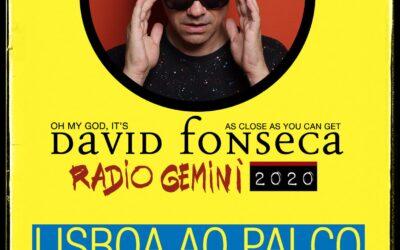"""DAVID FONSECA, O REGRESSO AOS CONCERTOS NO """"LISBOA AO PALCO"""""""