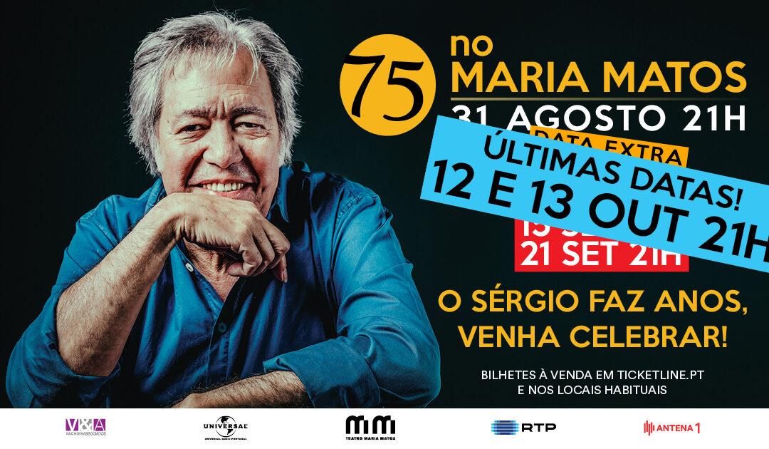 SÉRGIO GODINHO, A FESTA DOS 75 CONTINUA…